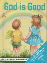 God Is Good by Mary Alice Jones 1955 Vintage Rand McNally Book Elizabeth... - $6.92
