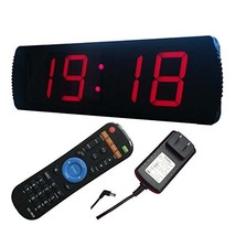 "Ledgital LED Wall Clock 20"" x 6.3"" Countdown & up Presentation Clock w/R... - $137.34"