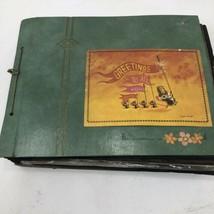Cat Kitty Kitten Scrapbook Vintage Ephemera Postcards Pictures Cards Cli... - $29.22