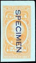 C39S, Cigar Tax Paid Specimen Stamp - Hard to Find! - Stuart Katz - $50.00