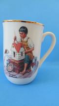 Norman Rockwell 1982 Doll House for Sis Mug #1 - $3.99