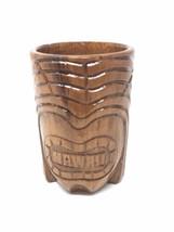 Hilo Hattie Hawaii Wood Looking Tiki Mug Cup - $14.81