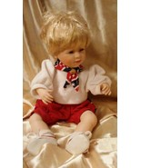 "Danbury Mint? Porcelain 14"" Girl Doll Collectible Dressed in Patriotic C... - $17.82"