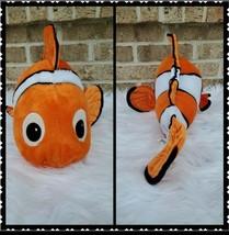 Disney Store Plush Fish Nemo Finding Nemo Stuffed 20 Inch Orange Toy Gift - $18.78