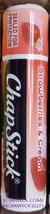 ChapStick STRAWBERRIES AND CREAM Moisturizing Lip Balm Gloss Limited Sealed - $3.50