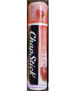 ChapStick STRAWBERRIES AND CREAM Moisturizing Lip Balm Gloss Limited Sealed - $3.50