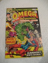 OMEGA THE UNKNOWN #2 marvel comics very fine condition 1976 - $5.99
