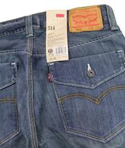 Levi's Strauss 514 Men's Original Slim Fit Straight Leg Jeans 0066-30010 image 6