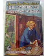 RARE Nancy Drew Mystery of the Ivory Charm no.13 1st Edition 19326B-1 hcdj  - $450.00