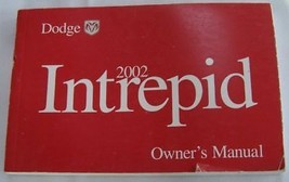 2002 Dodge Intrepid Owners Manual Parts Service - $24.99