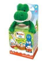 New Plush Green Kinder Mix Alligator Crocodile Kinderegg Surprise Ferrer... - $17.59