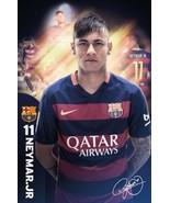 "FC Barcelona Neymar Soccer Football Sports Poster 24"" x 36"" FREE SHIPPING - $19.88"