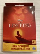 Disney The Lion King Jumbo Playing Cards - $9.89