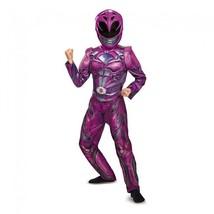 Disguise Power Ranger Rosa Ranger Película Clásico Niña Disfraz Hallowee... - $29.27