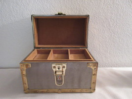 "Vintage 1970's Musical Chest Jewelry Box ""Love... - $46.00"