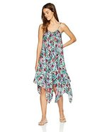 Jessica Simpson Women's Lace-Up Swim Cover Up, Mai Tai Mint, L - $39.60