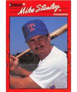 1990 Donruss #579 Mike Stanley NM-MT Rangers - $0.99