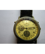 PULSAR y187-8A10 CHRONOGRAPH 1992 DATE WATCH FOR YOU TO FIX MINUTE REGISTER - $87.32