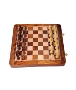 SG Wooden Chess Game Board Set with Magnetic Crafted Pieces - $80.09