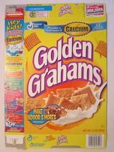 Empty General Mills Cereal Box 1999 Golden Grahams 13 Oz Series 82 - $12.76