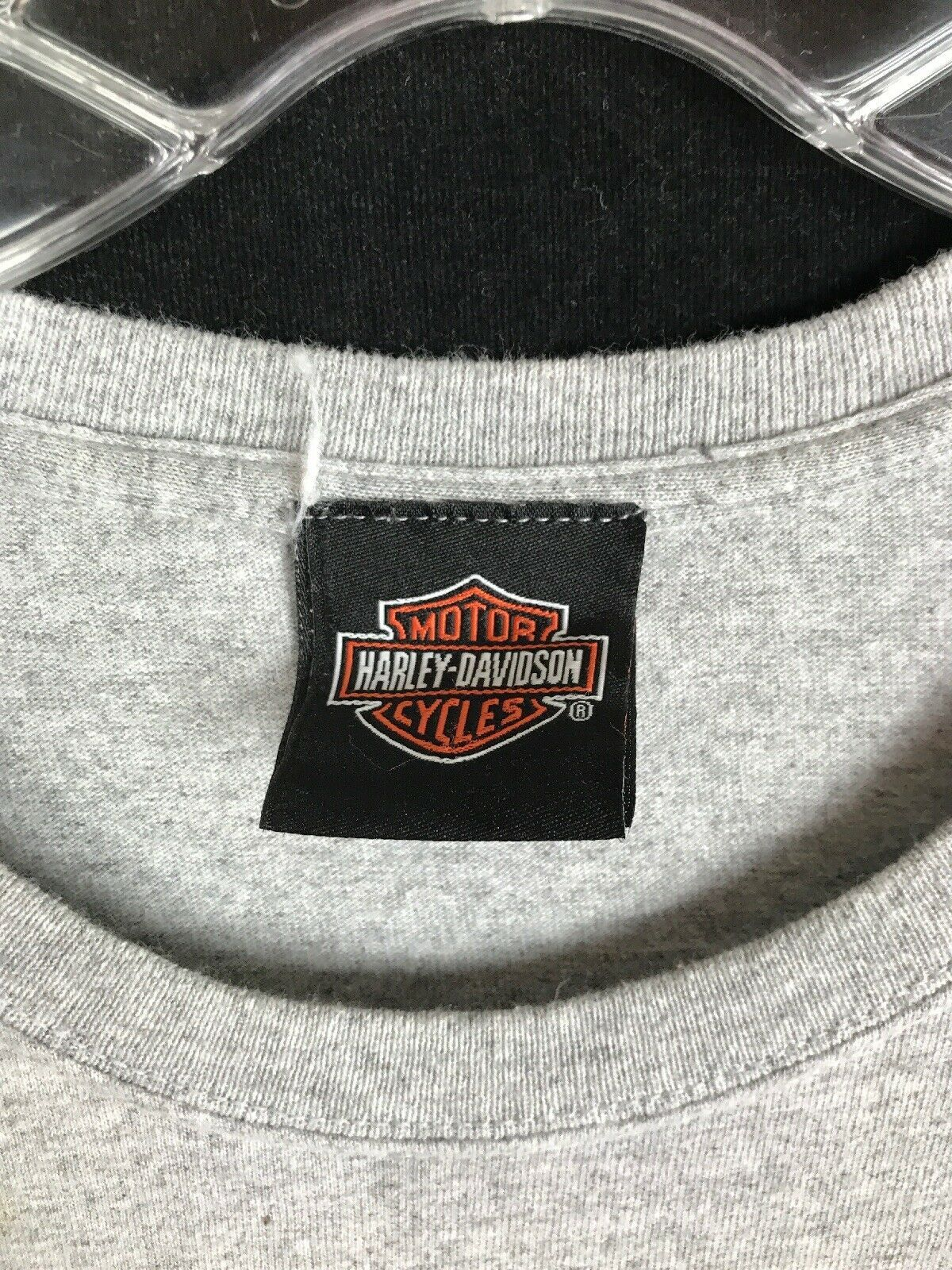 XL HOG Harley Owners Group Davidson Gray T Shirt 2010 Sturgis image 4