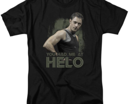 Battlestar Galactica Had me at Hello Sci-Fi TV series graphic adult tee BSG177 image 2