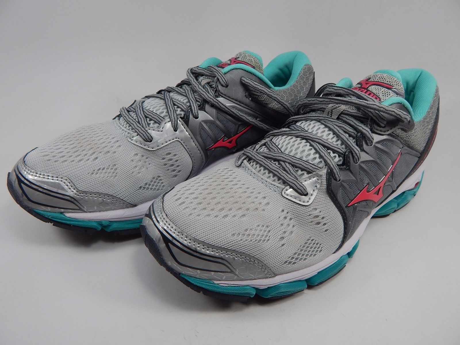 Mizuno Wave Horizon Women's Running Shoes Size US 9.5 M (B) EU 40.5 Silver