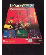 NIP K'NEX Drop N' Swing #4,  With Box & Directions, Motors, Amusement Park - $37.36