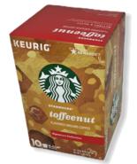 Starbucks Keurig 10 Pod K-Cup Toffeenut Flavored Ground Coffee Signature... - $16.82
