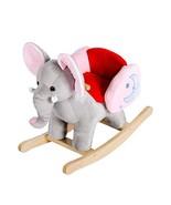 Kinbor Rocking Horse Plush Baby Kids Stuffed Animal Rocker Toy Wooden Ro... - $53.80