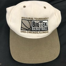 Vintage Big Ten Basketball Chicago Inaugural Tournament Hat Cap Strapbac... - $19.79