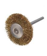 3mm Brass Wire Wheel Brushes Cup for Rust Rotary Dremel Tools Drill Rust... - $2.54