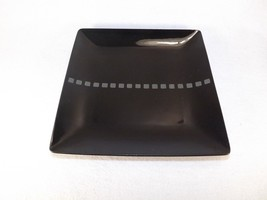 """Mikasa Viewpoint Black Square 8"""" Salad Plate Potters Art-7 Available W/S... - $14.95"""