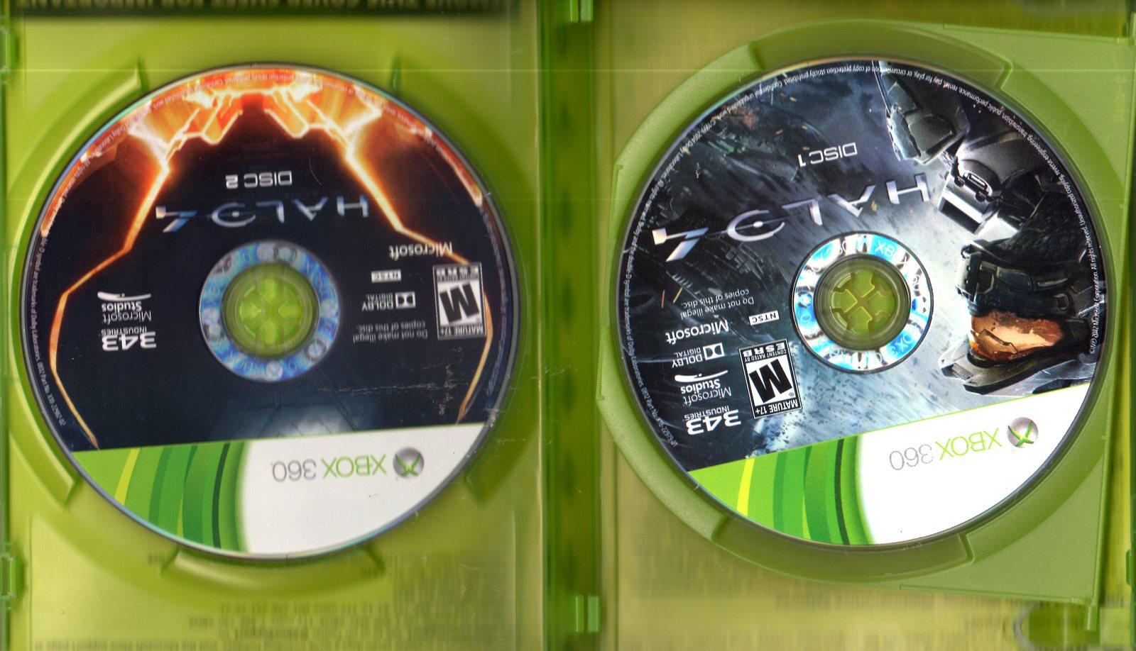 XBOX 360   HALO 4 (2 discs)
