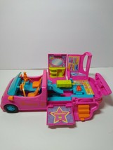 Polly Pocket Pollywood Pink Limo-Scene Car 2005 Mattel - $13.66