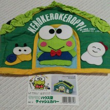 Sanrio Vintage Kero Kero Keroppi Tissue Case Cover New Rare Cute House - $68.05