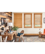 "Bali 1"" Northern Heights Wood Blinds Maple 23 3/4"" x 37 7/8"" window trea... - £34.38 GBP"