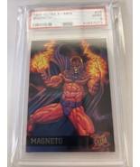 Ultra X-Men 1995 MAGNETO #28 PSA 9 Mint X-men Card Iconic - $989.99
