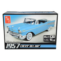 Skill 2 Model Kit 1957 Chevrolet Bel Air 1/25 Scale Model by AMT AMT638M - $38.99