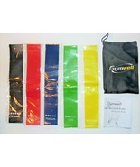 Gymwell Resistance Loop Bands Set of 5 w/Carry Case NEW - $13.57