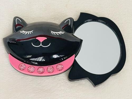 New BATH & BODY WORKS Bling Black Cat ⬛ MIRROR Case - $17.72