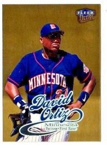 1999 Fleer Ultra Gold Medallion DAVID ORTIZ parallel  [NrMt-Mint] - $2.25