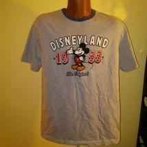 Disneyland 1955 Womens Gray T-shirt Large - $26.73