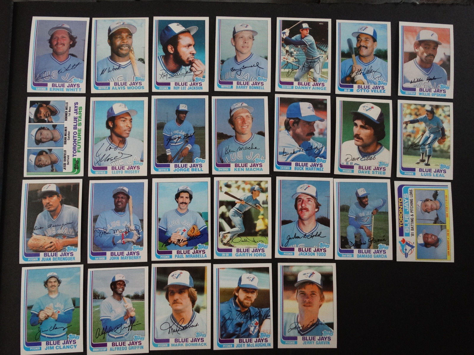 1982 Topps Toronto Blue Jays Team Set Of 26 And 50 Similar Items
