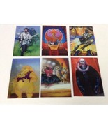 Topps 1996 Holographic Shiny Star Wars Finest Trading Cards Lot of 6 - $14.80