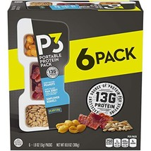 Planters P3 Peanuts, Ham Jerky & Sunflower Kernels Protein Pack, 1.8 Ounce, Pack