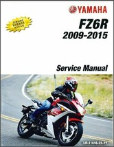 2009-2015 Yamaha FZ6R Service Repair Manual on a CD - $12.00
