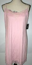 NWT New Josie Natori XL Modal Lace Womens Night Gown Designer Pink Rose ... - $162.50