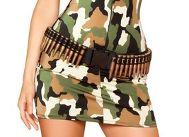 Women's Bullet Holster Military Army Solider Costume Halloween Accessory... - $14.99