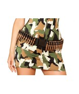 Women's Bullet Holster Military Army Solider Costume Halloween Accessory... - $15.99